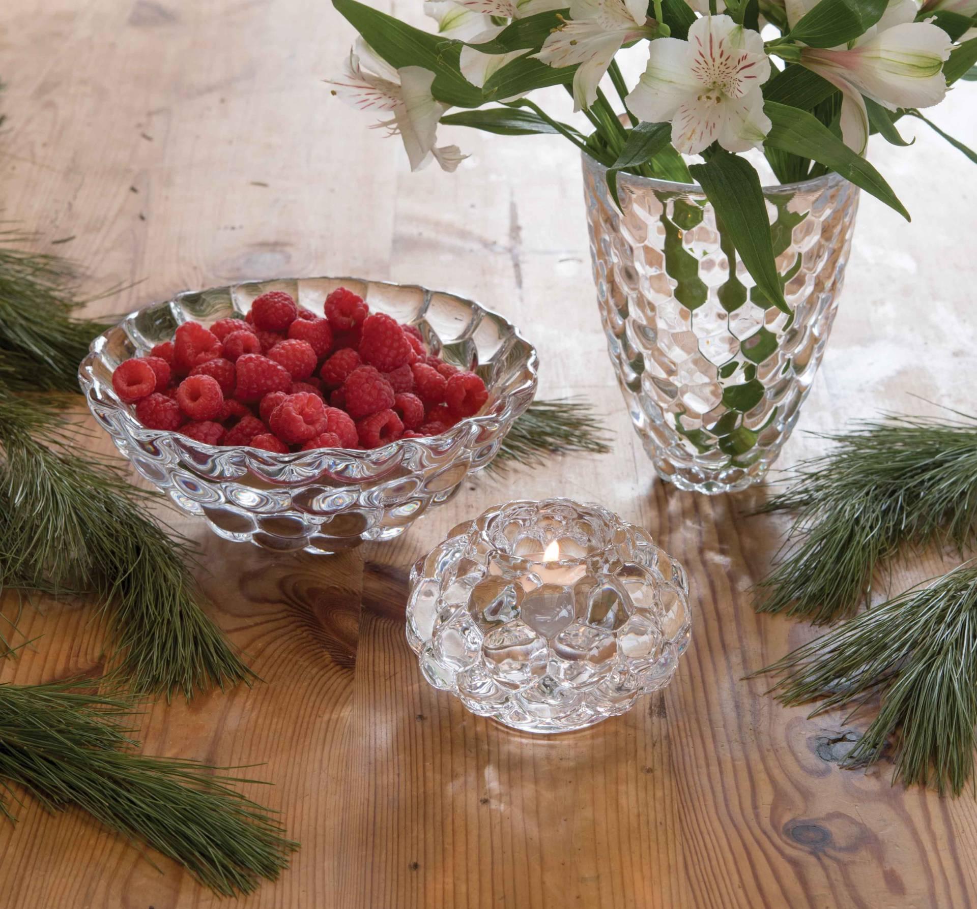 Orrefors Raspberry Vase | Stabo Imports